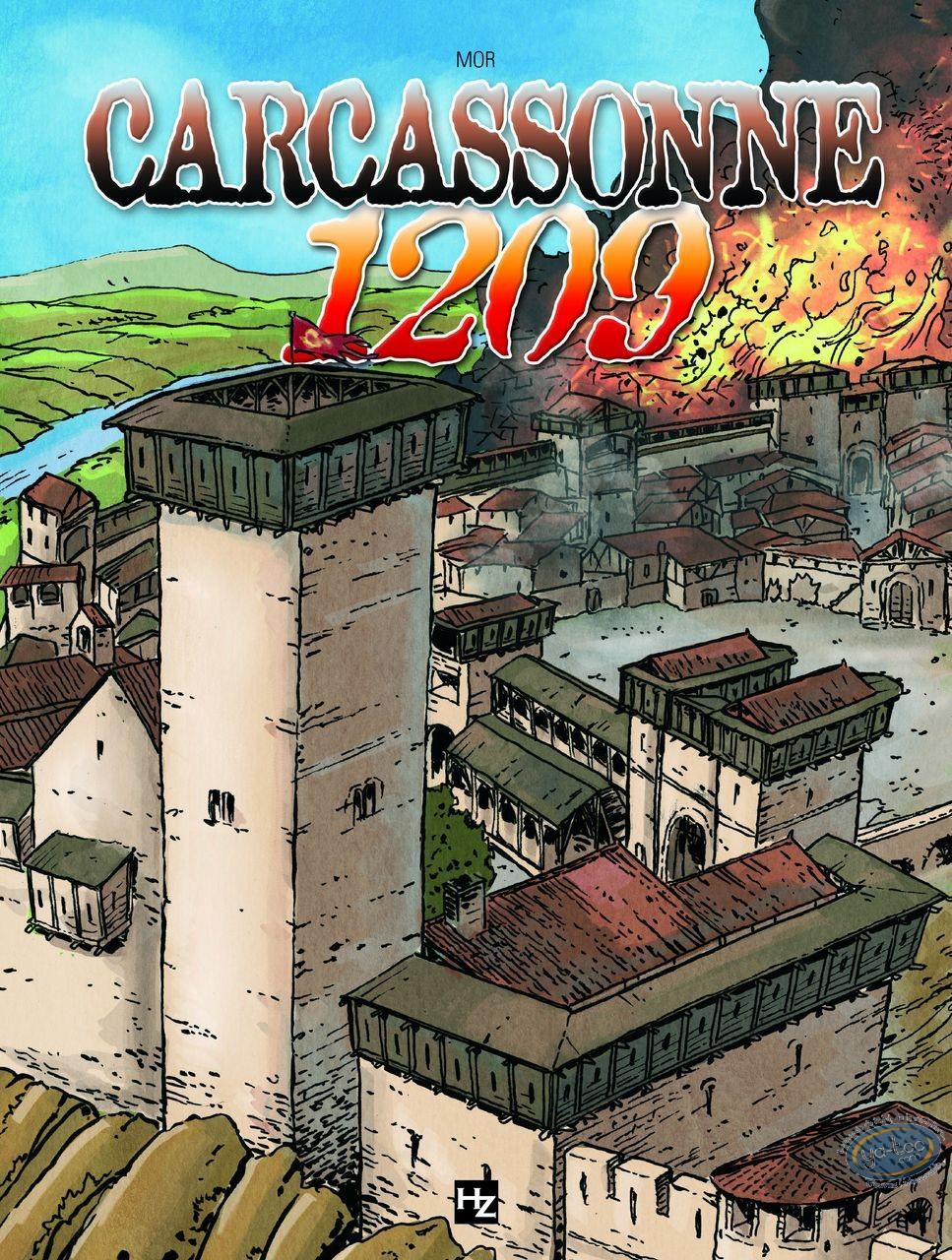 European Comic Books, Epopée Cathare (L') : Carcassonne 1209 - The Cathar epic