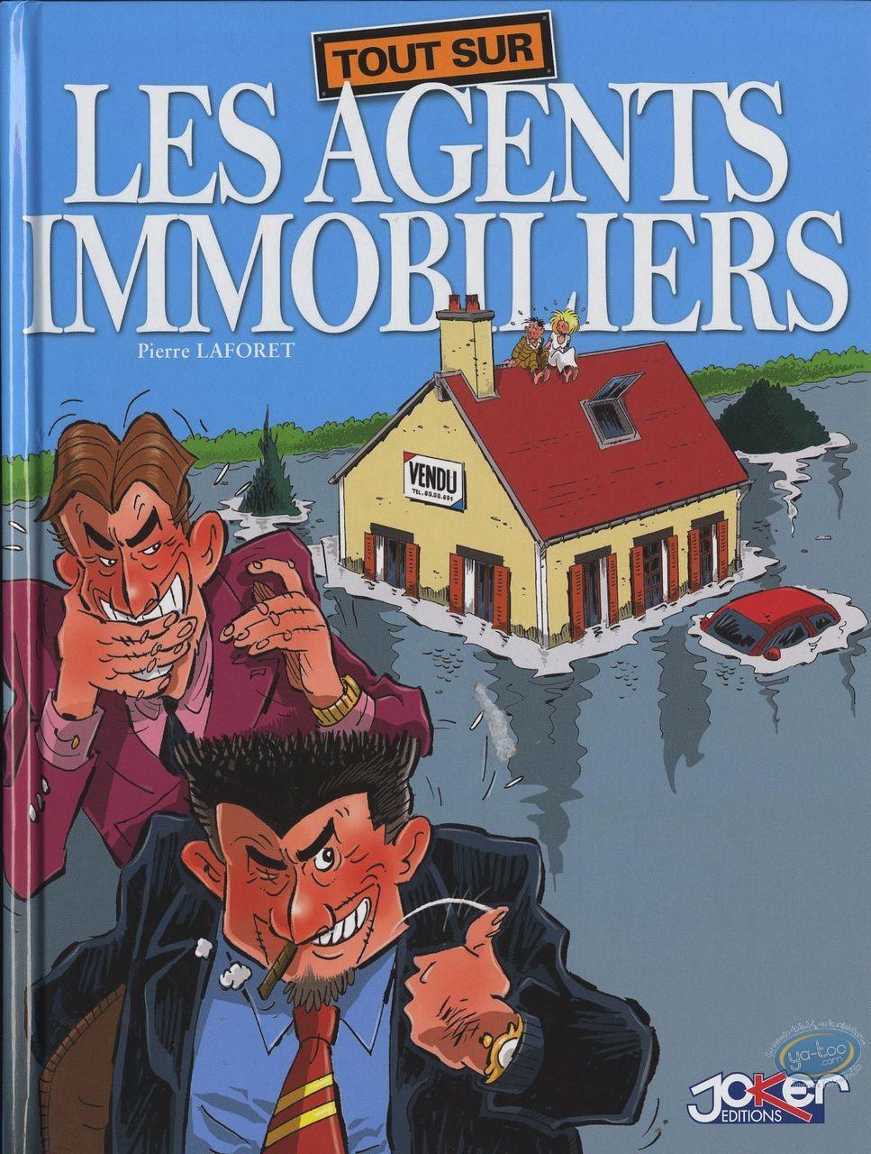 Reduced price European comic books, Tout sur … : Tout sur ... Les agents immobiliers