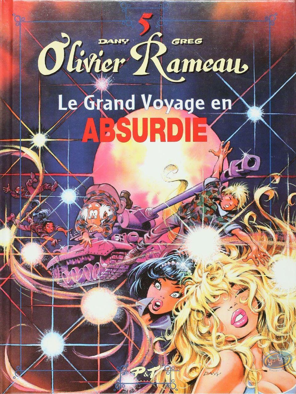 Reduced price European comic books, Olivier Rameau : Le grand voyage en Absurdie