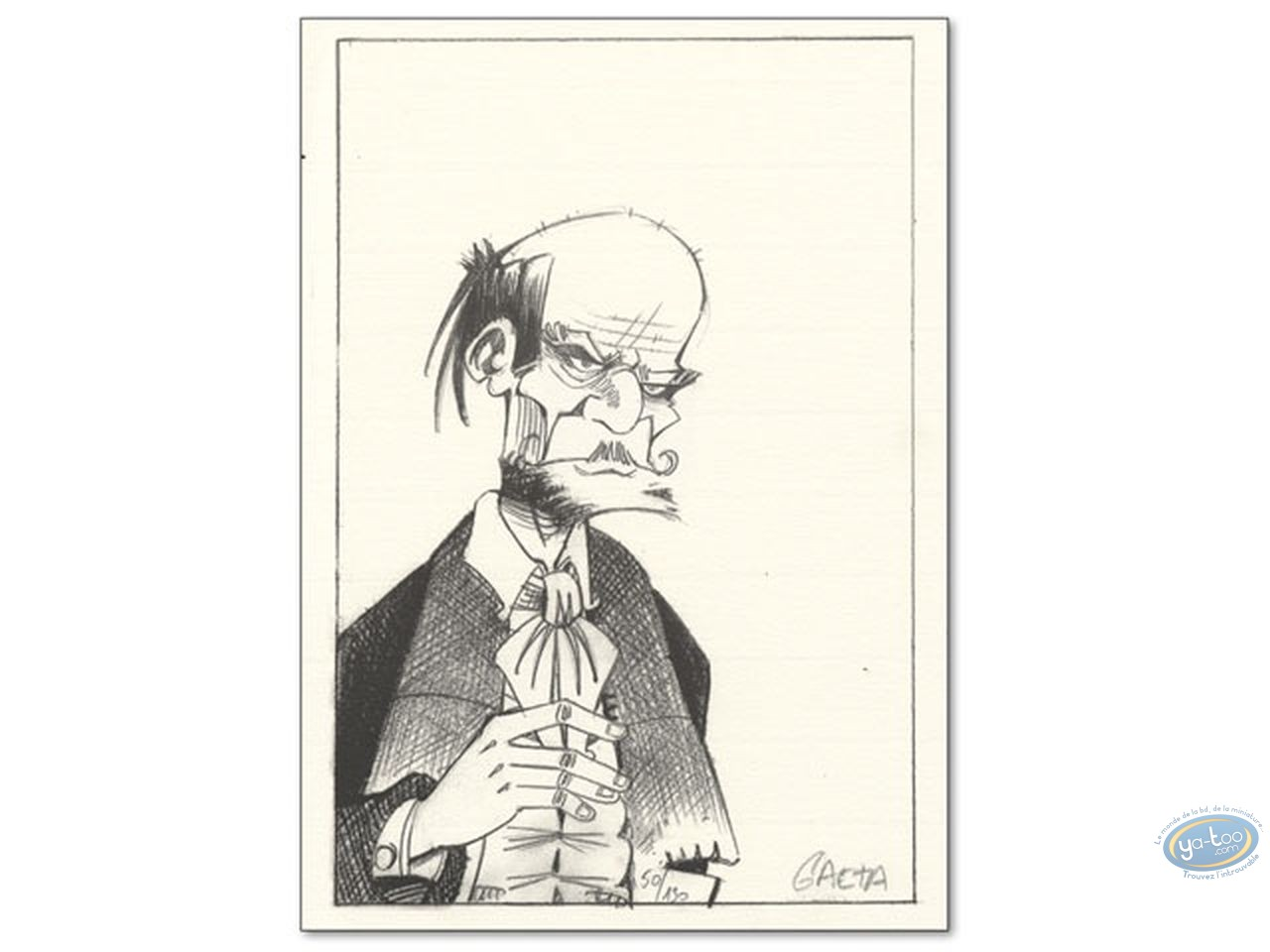 Bookplate Offset, Dr. Grahms : Portrait