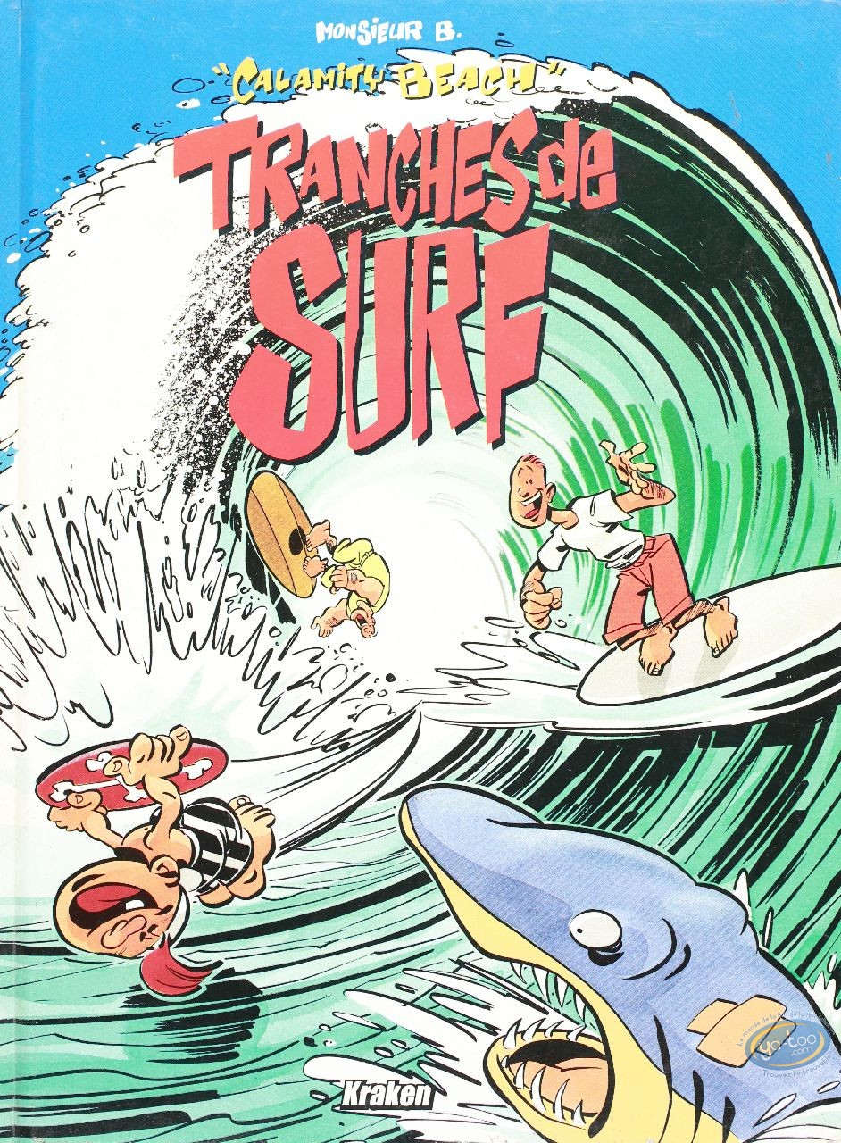 Used European Comic Books, Calamity Beach : Tranches de surf