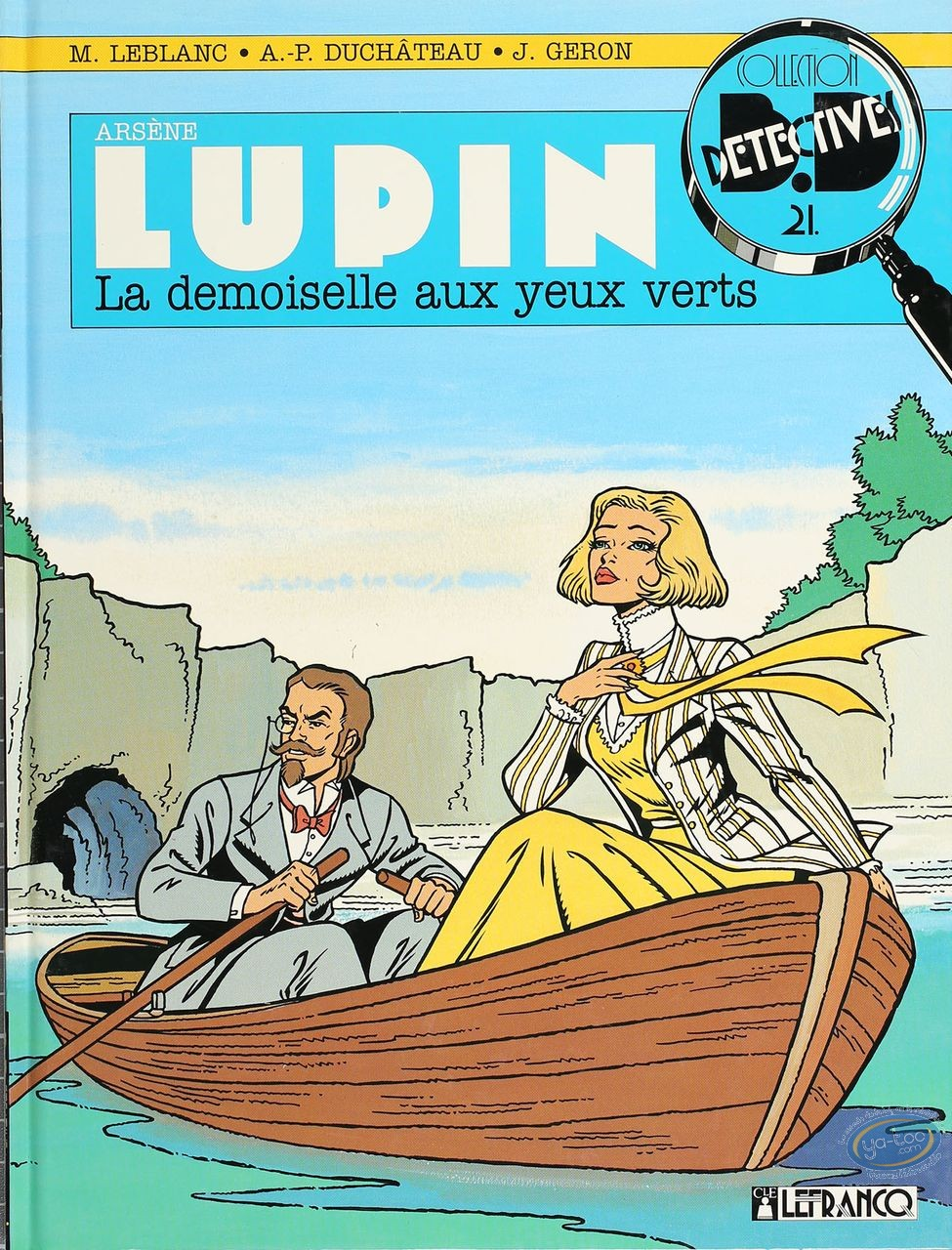 Listed European Comic Books, Arsène Lupin : La Demoiselle aux Yeux Verts (very good condition)