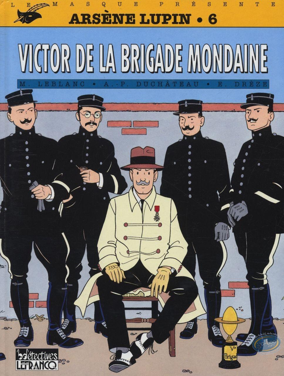 Used European Comic Books, Arsène Lupin : Victor de la brigade mondaine