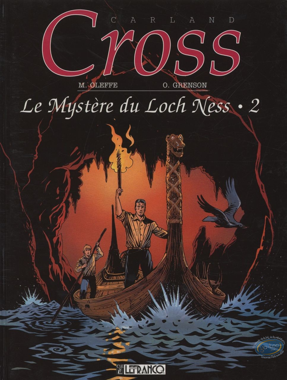 Used European Comic Books, Carland Cross : Le Mystère du Loch Ness 2