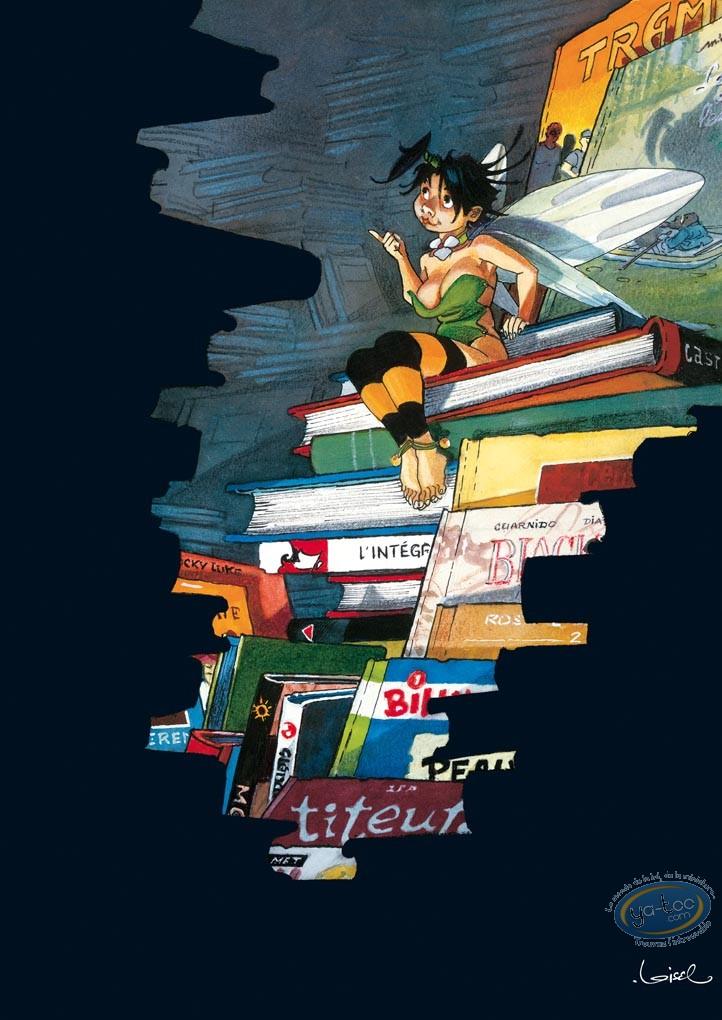 Offset Print, Peter Pan : Tinker Bell & the books