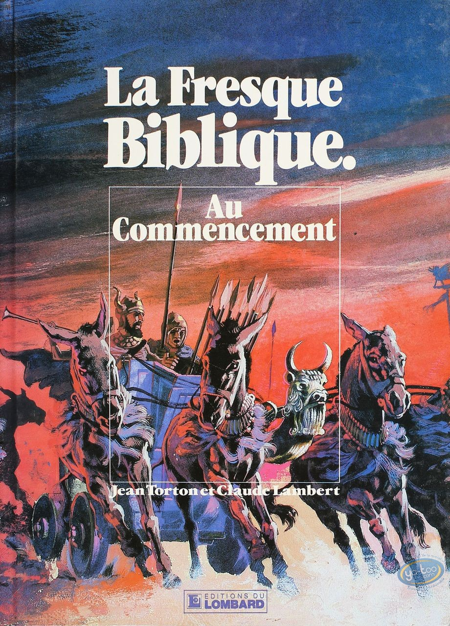 Used European Comic Books, Fresque Biblique (La) : Au commencement