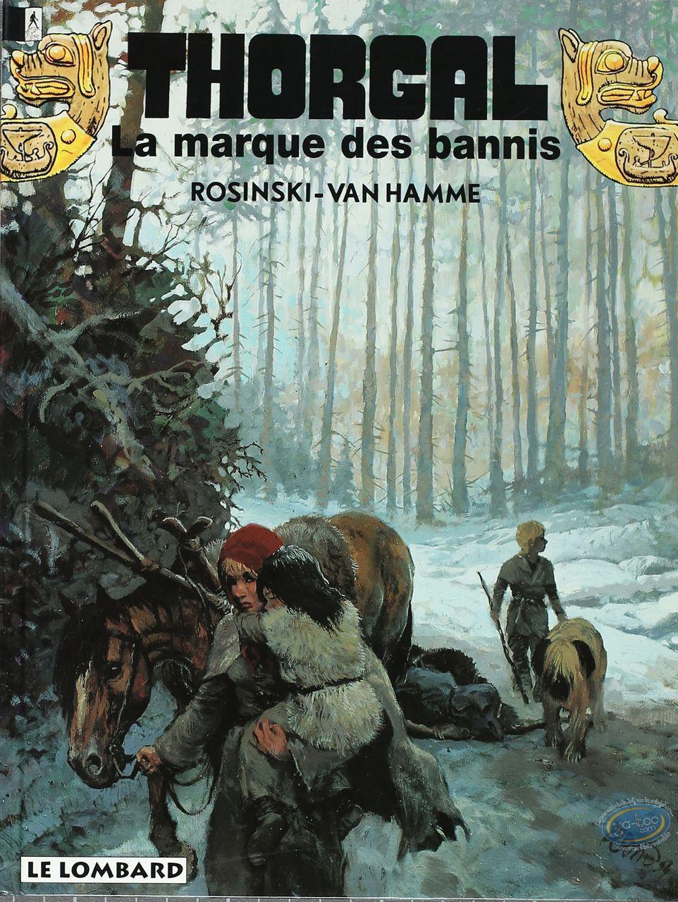 Listed European Comic Books, Thorgal : La Marque des Bannis