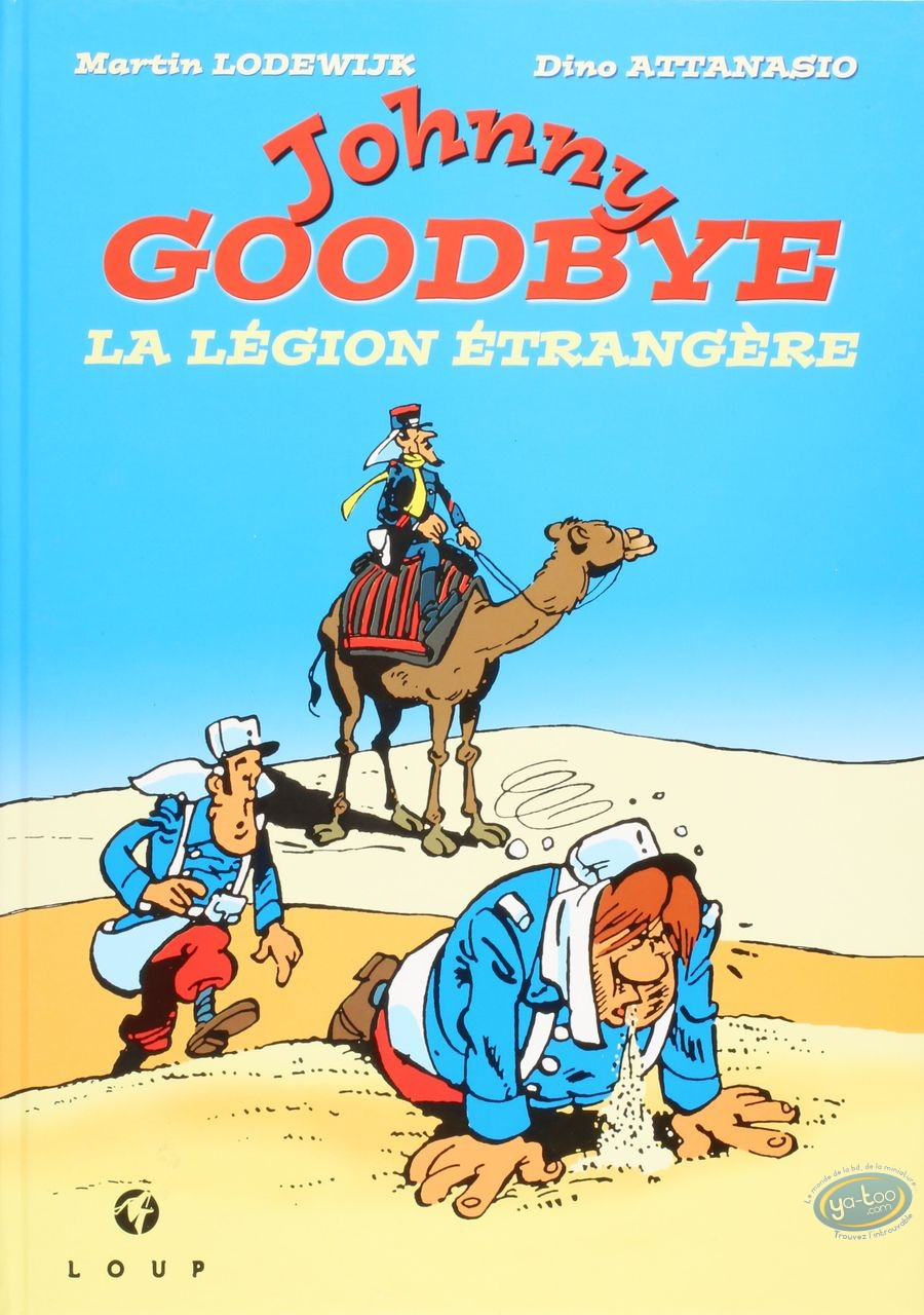 Reduced price European comic books, Jackson : Johnny Goodbye - The foreign legion