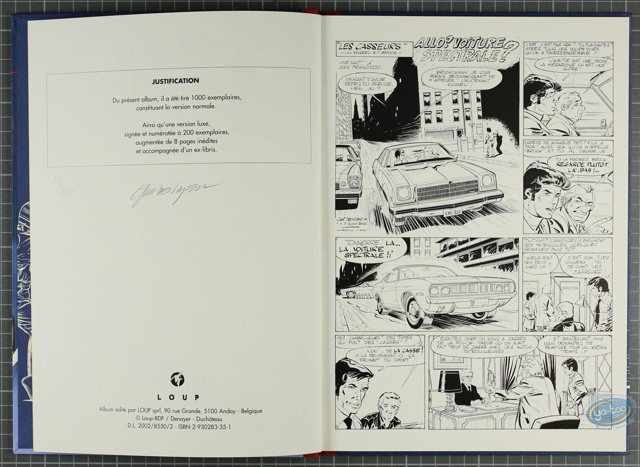 Limited First Edition, Casseurs (Les) : Les Casseurs - Alain Chevalier