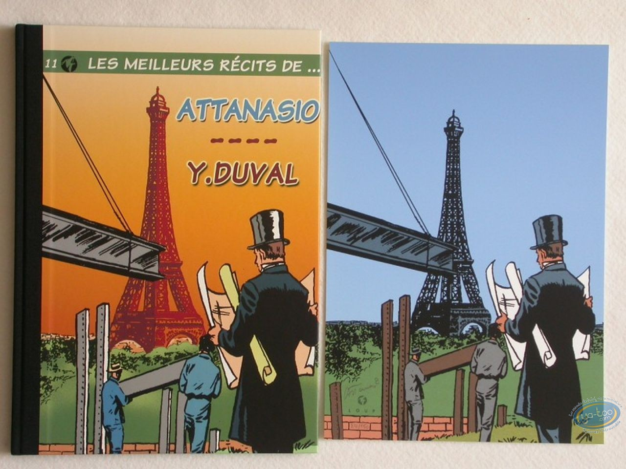 Limited First Edition, Meilleurs Récits (Les) : Attanasio