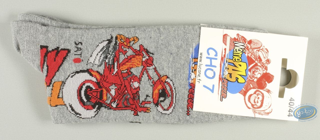 Clothes, Même pas Peeur : Socks, higway to hell - grises