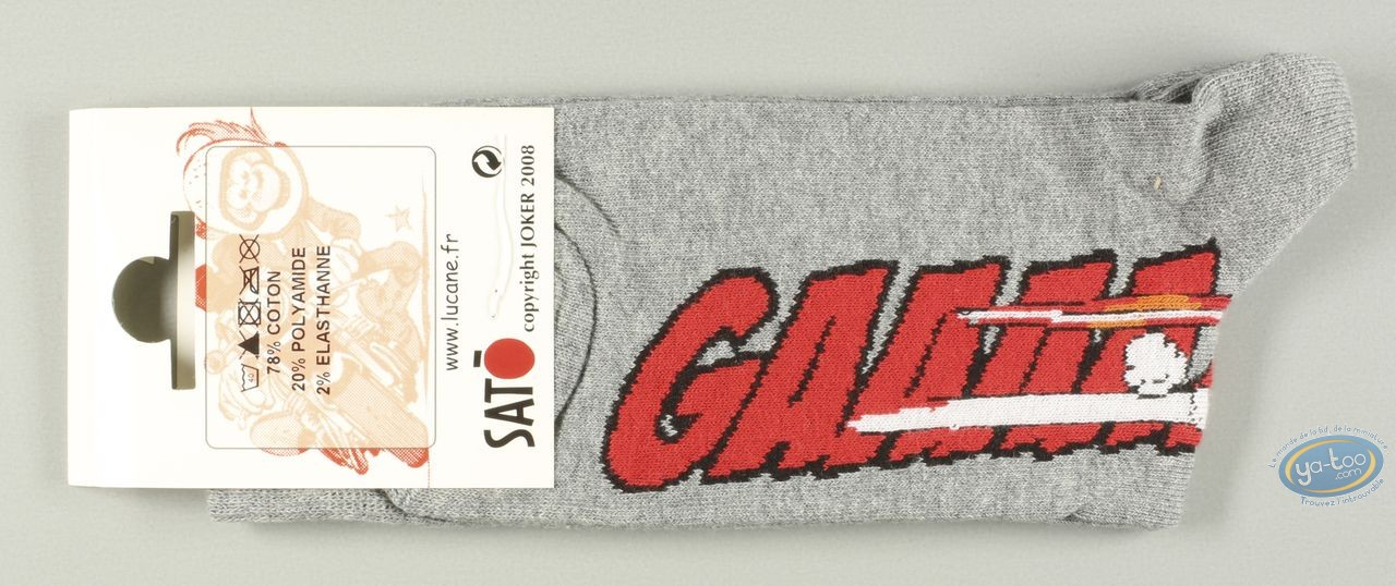 Clothes, Même pas Peeur : Socks, Gaaaaz HONDA - grises