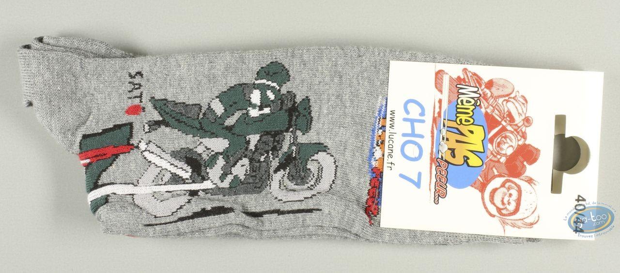 Clothes, Même pas Peeur : Socks, Gaaaaz TRIUMPH - grises