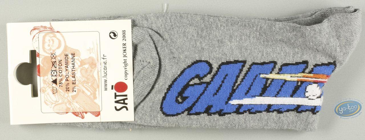 Clothes, Même pas Peeur : Socks, Gaaaaz SUZUKI - grises