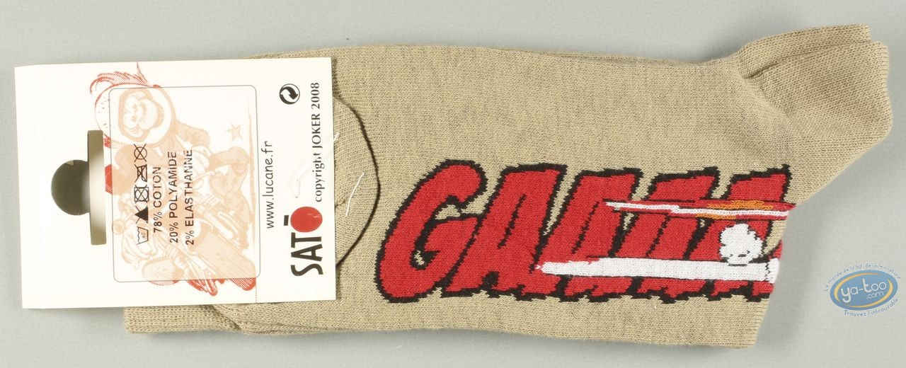 Clothes, Même pas Peeur : Socks, Gaaaaz DUCATI - sables