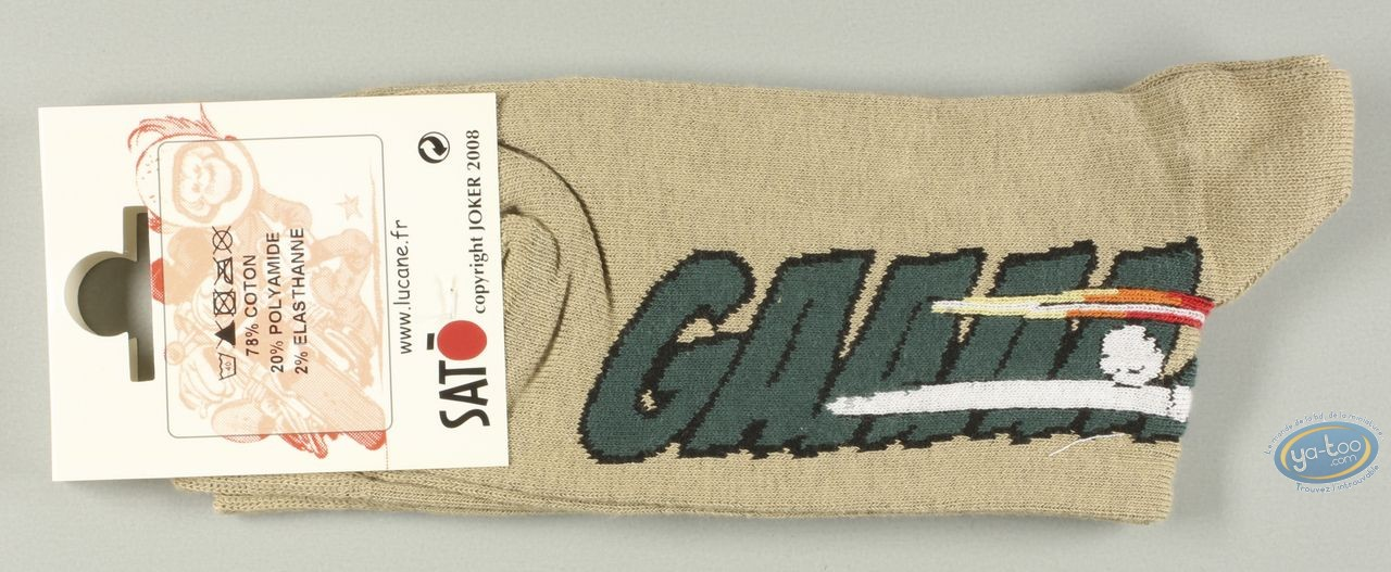 Clothes, Même pas Peeur : Socks, Gaaaaz TRIUMPH - sables