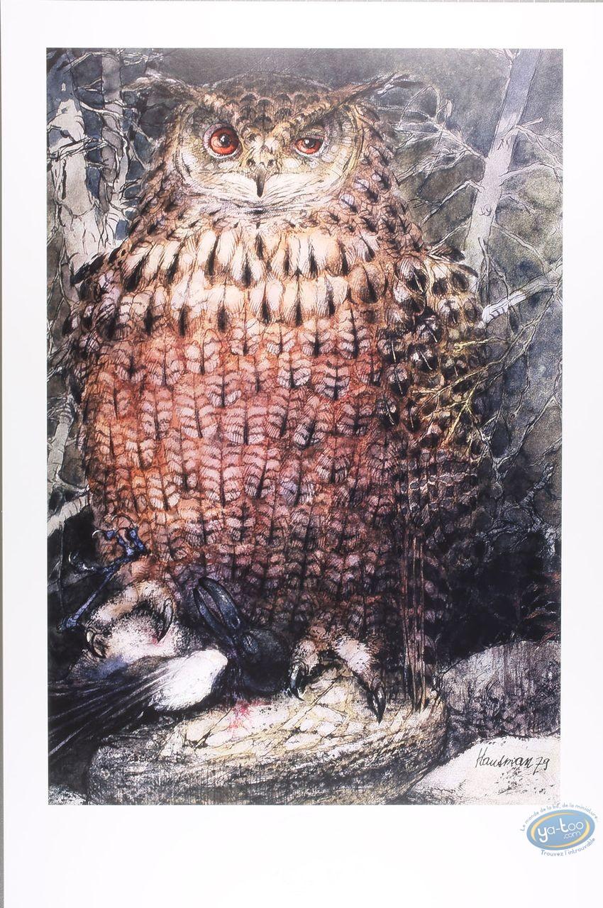 Offset Print, The eagle owl