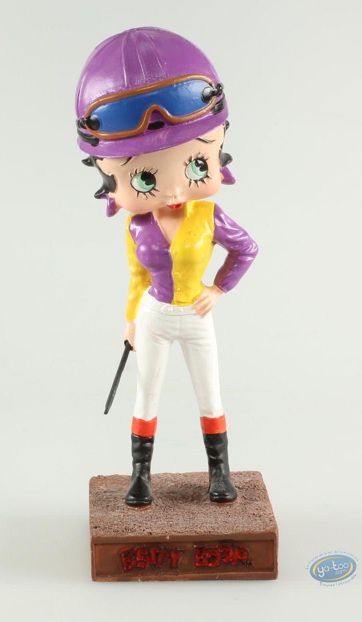 Resin Statuette, Betty Boop : Betty Boop Jockey