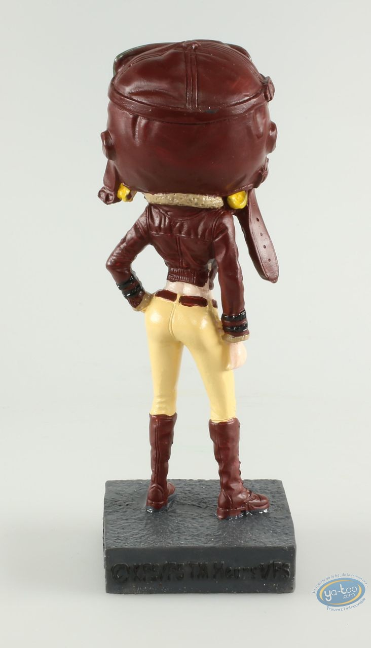 Resin Statuette, Betty Boop : Betty Boop Aviator