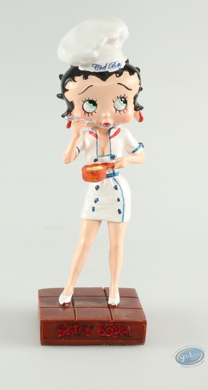 Resin Statuette, Betty Boop : Betty Boop Chef