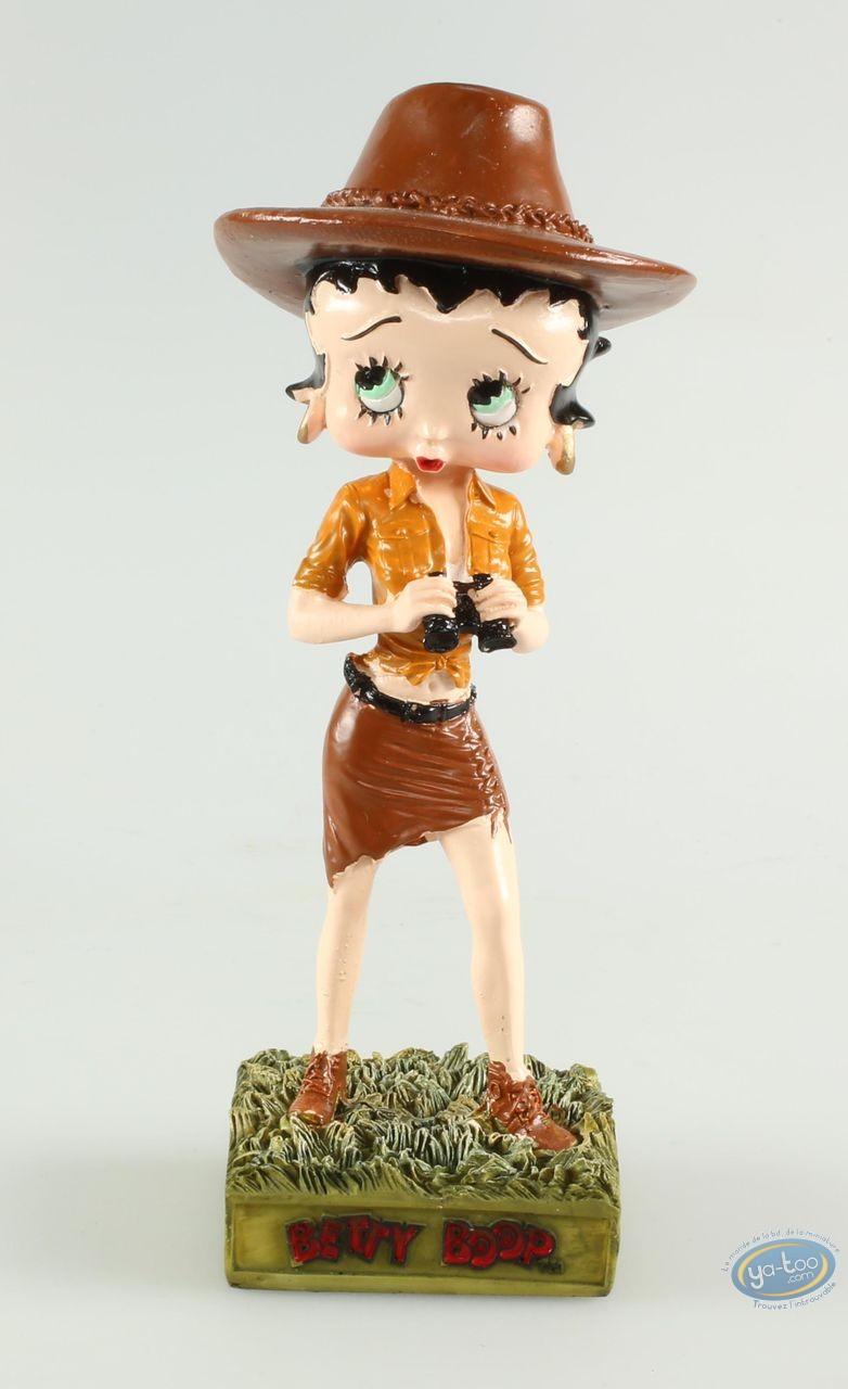 Resin Statuette, Betty Boop : Betty Boop Adventuress
