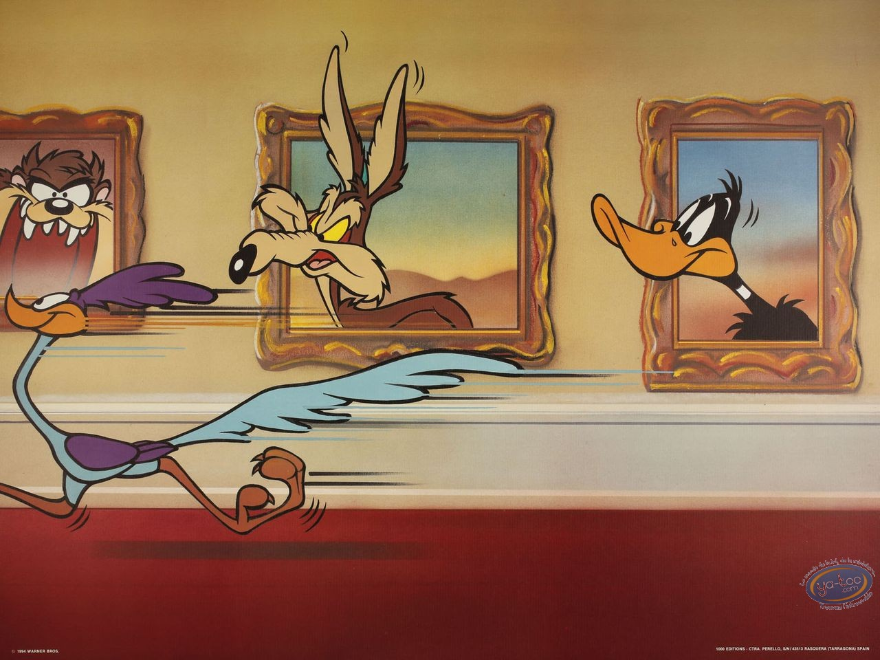 Offset Print, Looney Tunes (Les) : Tunes Gallery 60X80 cm