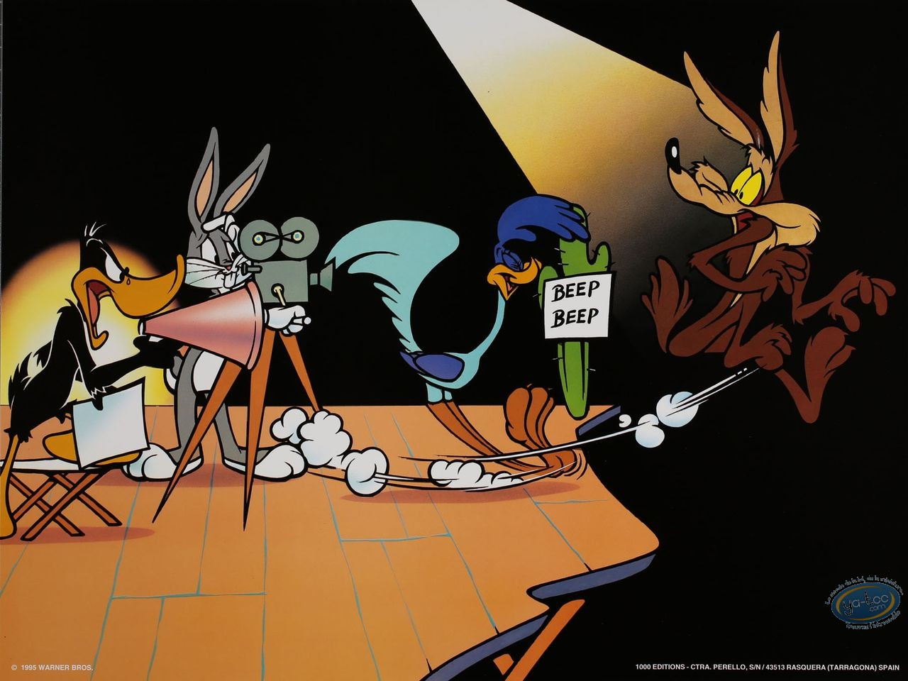 Offset Print, Looney Tunes (Les) : Looney pictures 30X40 cm