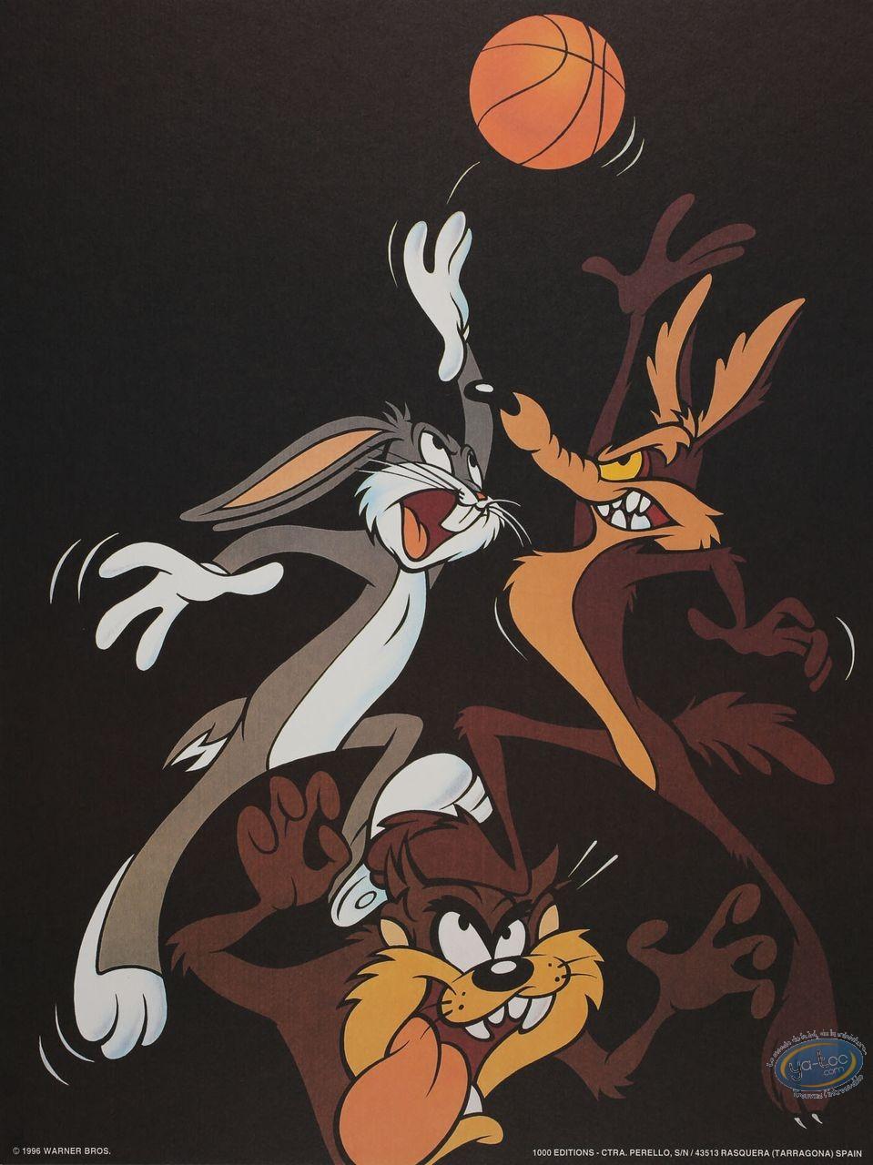 Offset Print, Looney Tunes (Les) : Looney dunk 40X30 cm