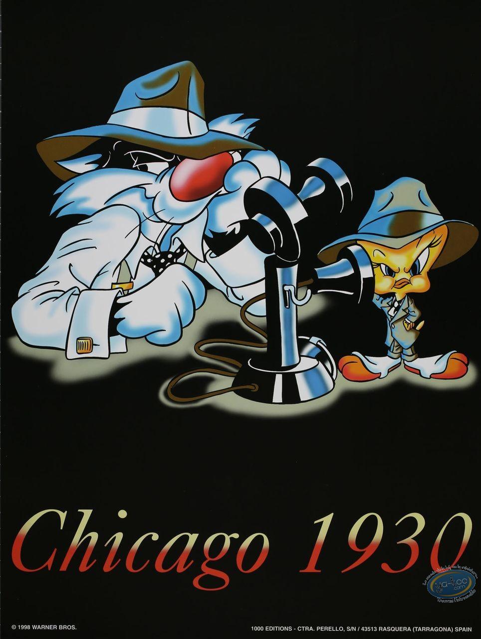 Offset Print, Titi : Chicago 1930 40X30 cm