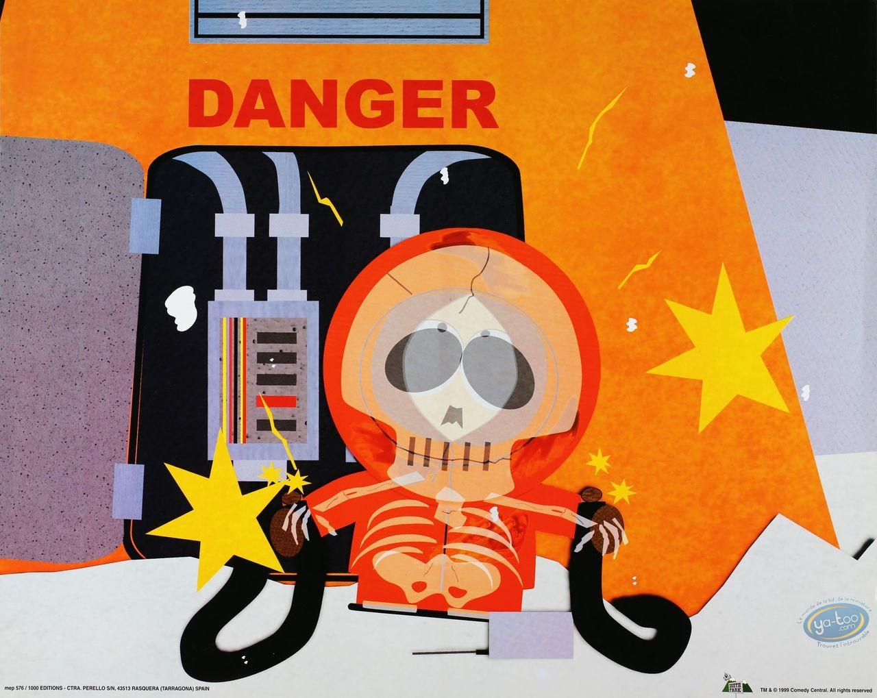 Offset Print, South Park : Kenny Danger 40X50 cm