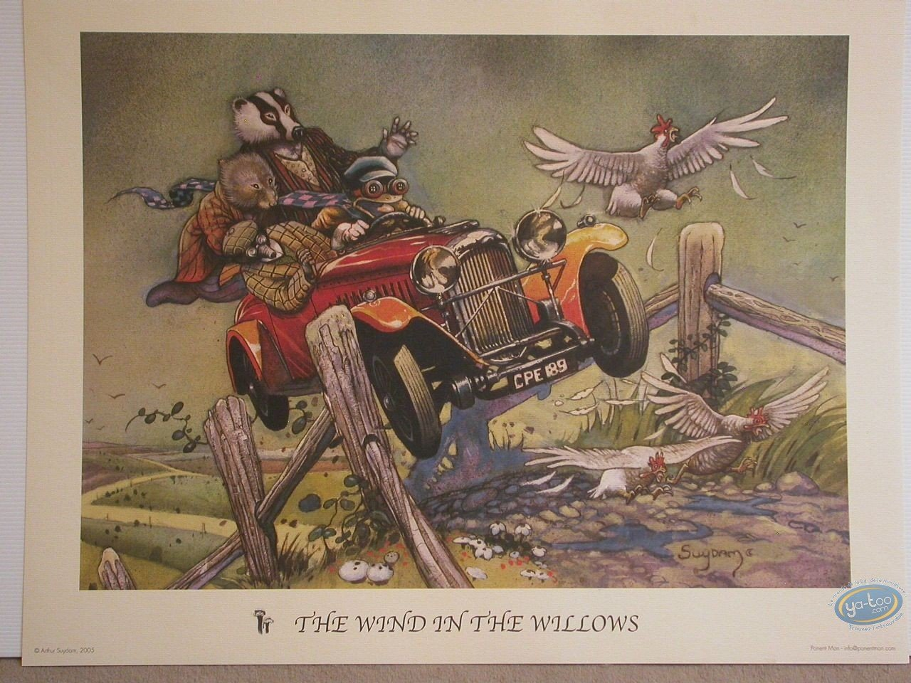 Offset Print, The Wind in the Willows
