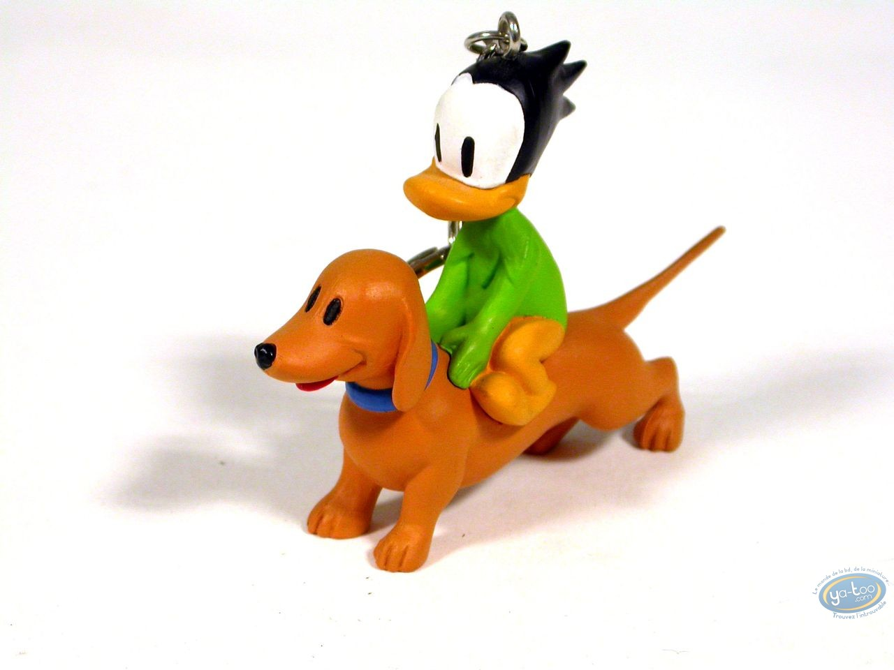 PVC Keyring, Liberty Meadows : Truman the duck et Oscar the dog