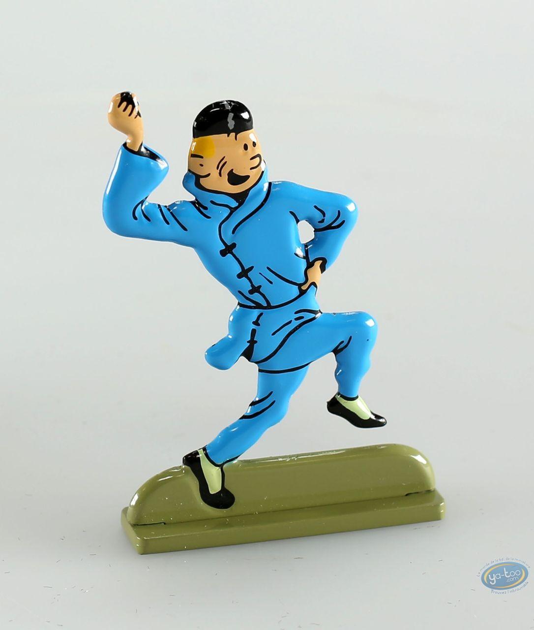 Metal Figurine, Tintin : The Blue Lotus ( bas relief)