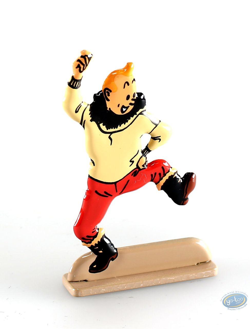Metal Figurine, Tintin : The Shooting Star (bas-relief)