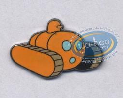 Pin's, Jo et Zette : The amphibious tank