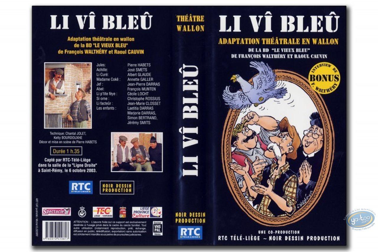DVD, Vieux Bleu (Le) : Video tape, Walthéry, Le Vieux Bleu