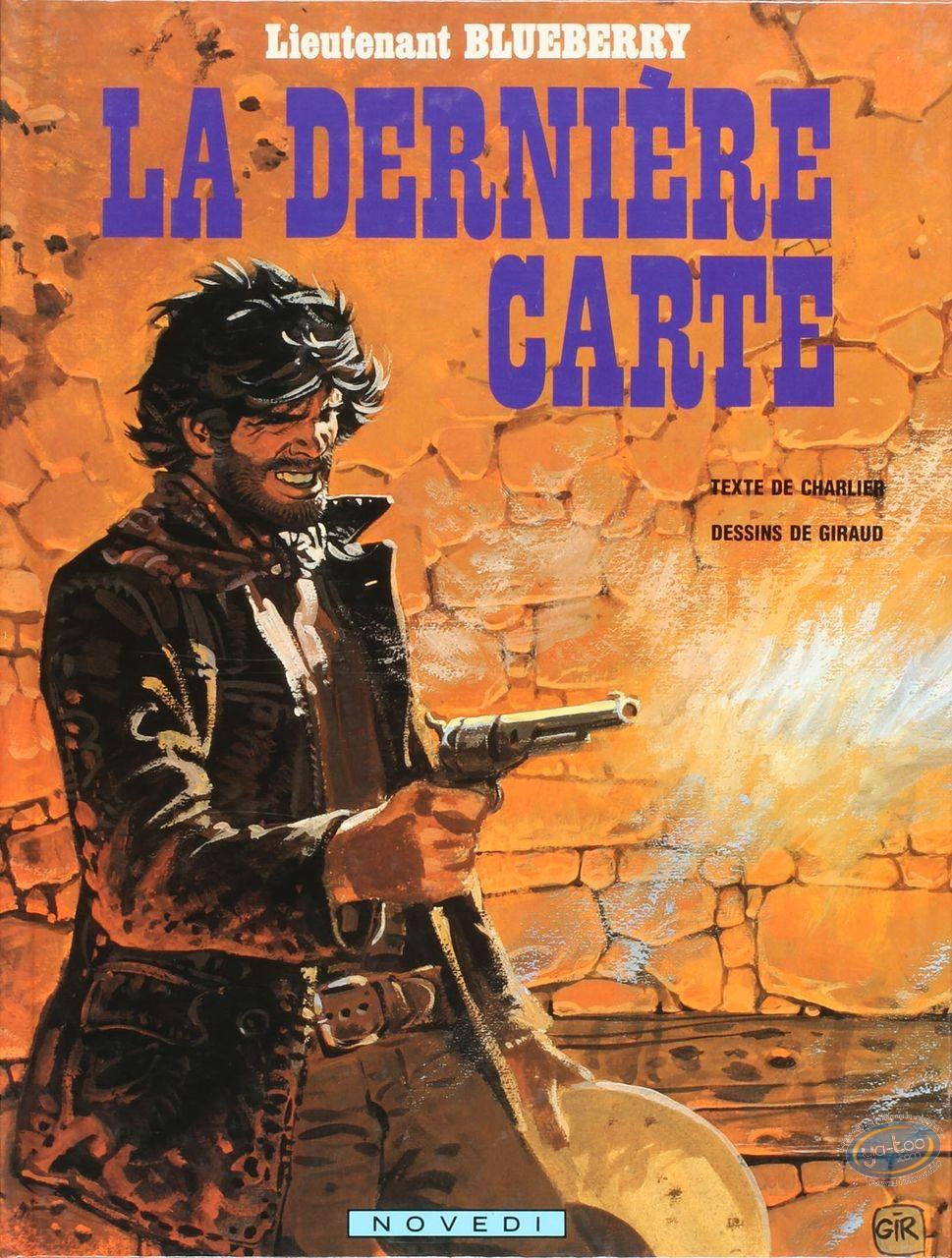 Listed European Comic Books, Blueberry : La derniere carte