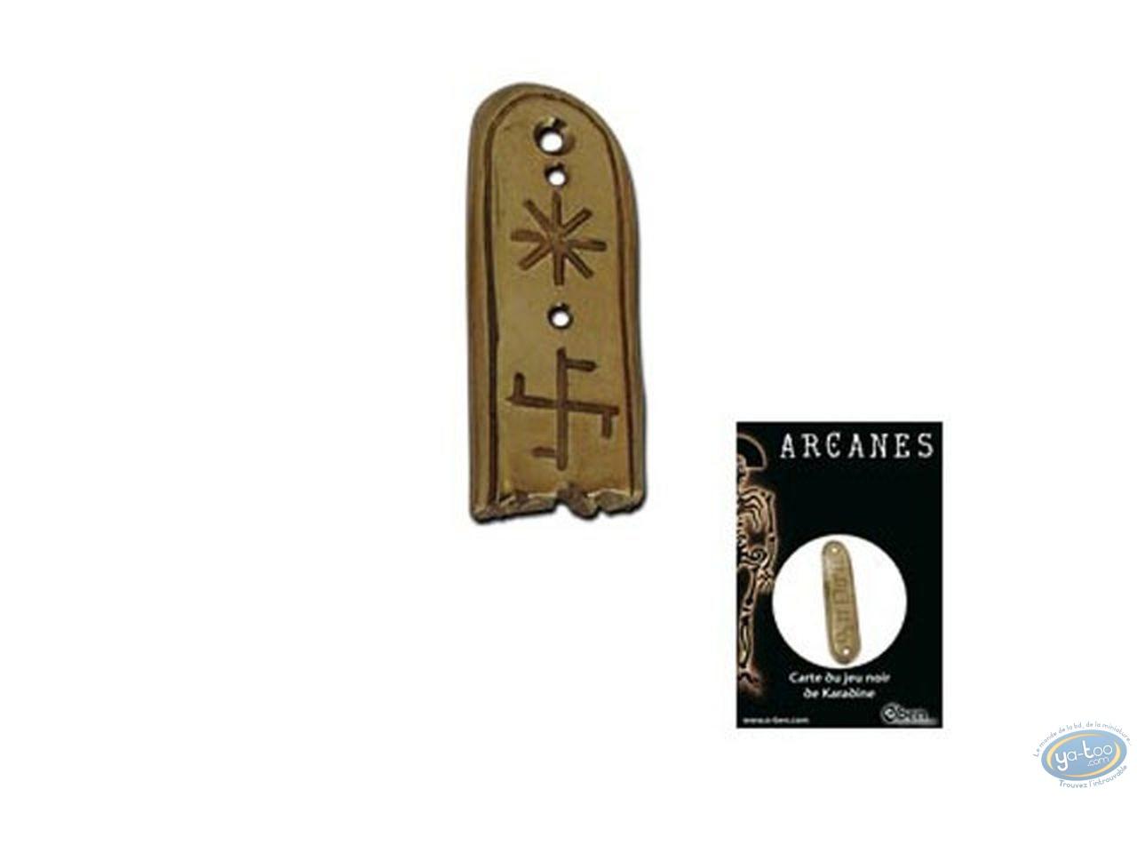 Jewelry, Arcanes : Black Game Card - Nebhet, cassée