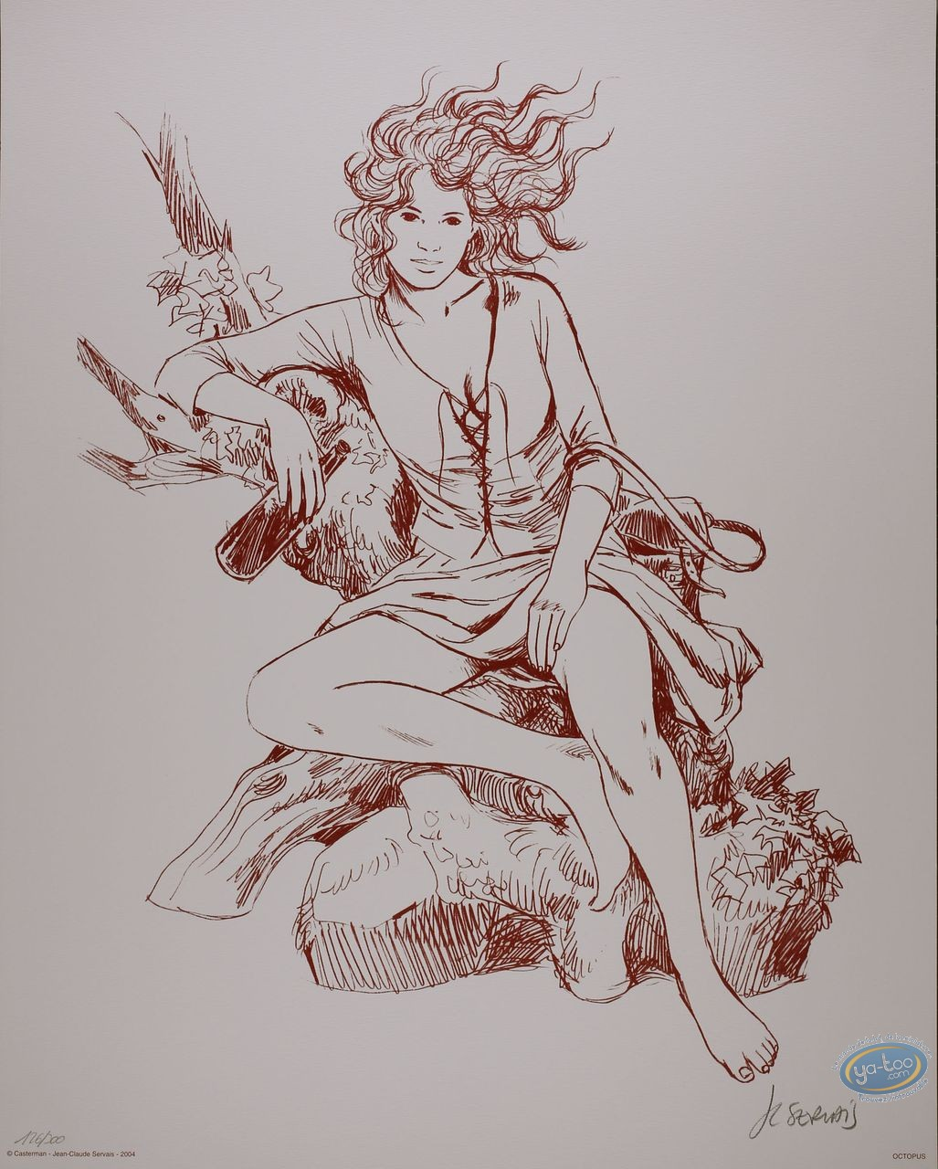 Offset Print, Tendre Violette : Sanguine