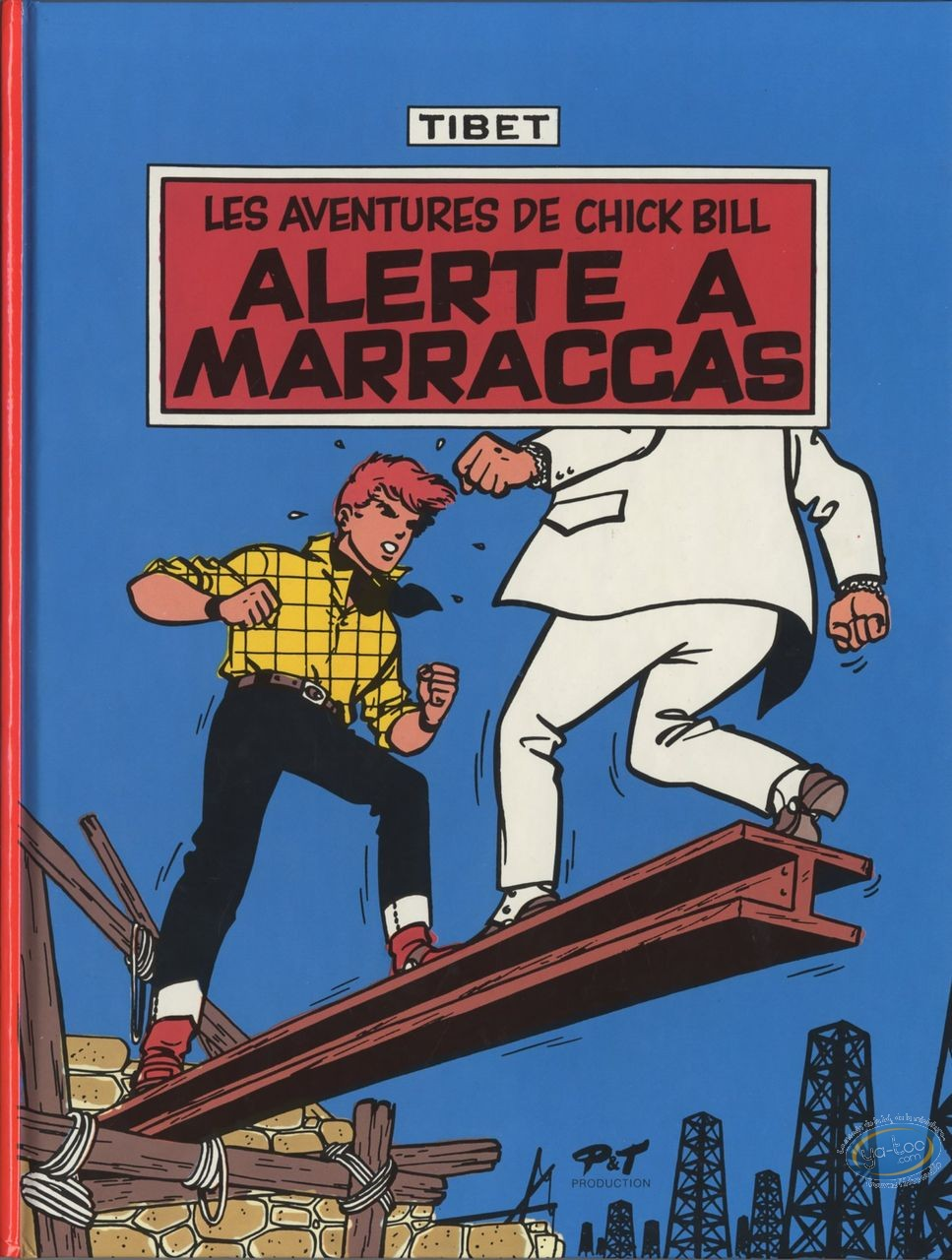 Used European Comic Books, Chick Bill : Alerte à Marraccas