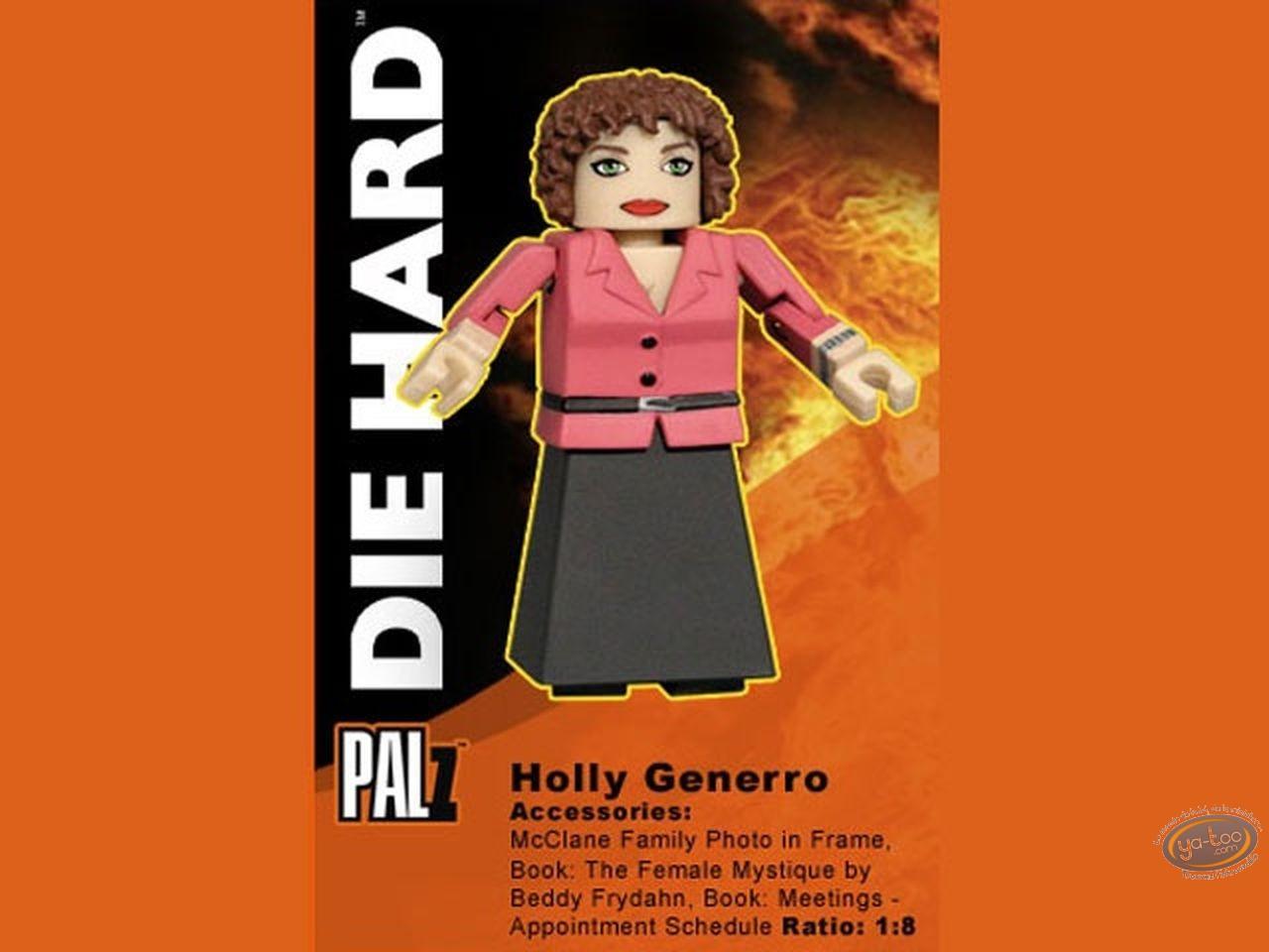 Plastic Figurine, Die Hard : Holly Generro