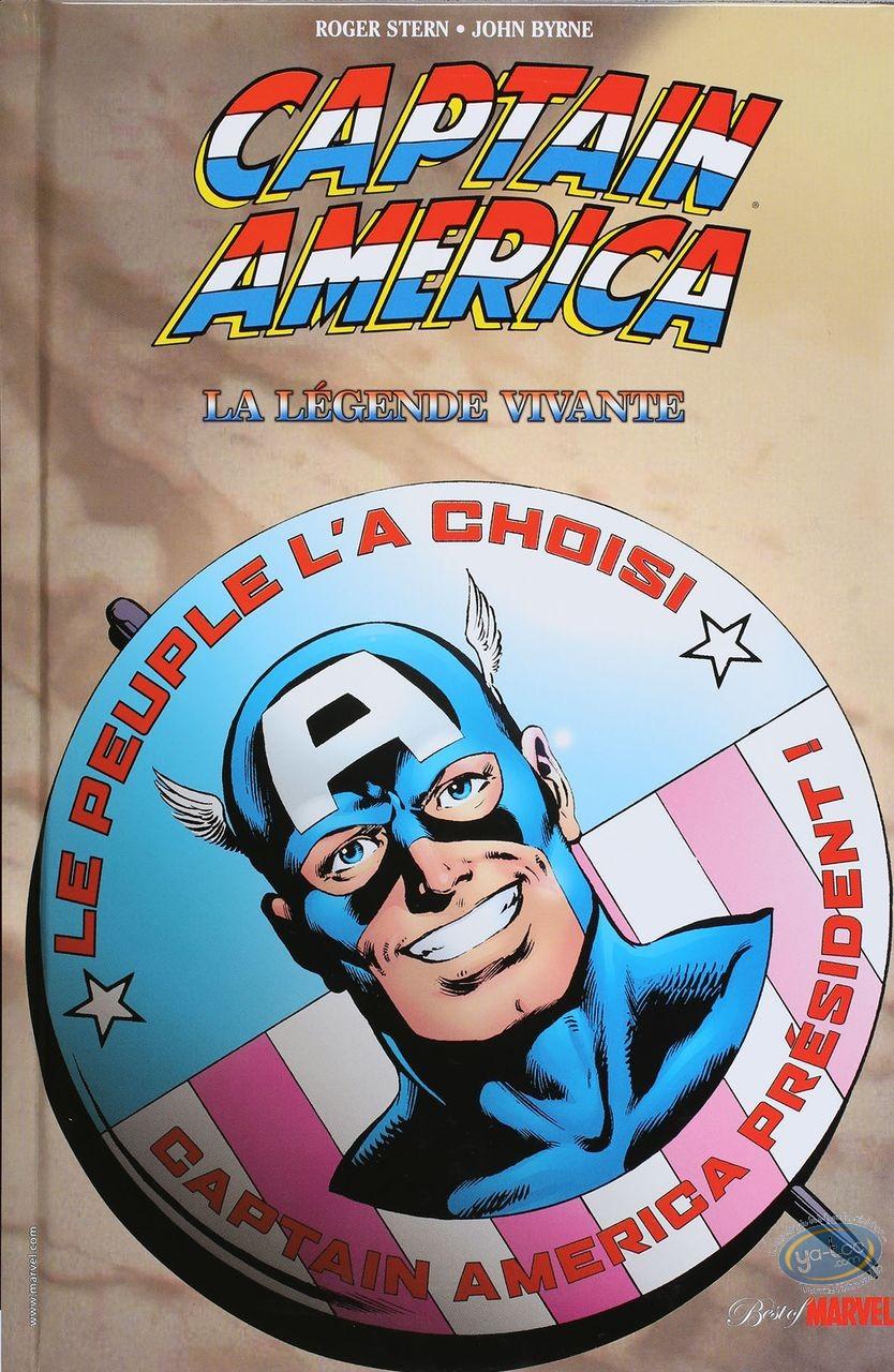 European Comic Books, Captain America : La légende Vivante