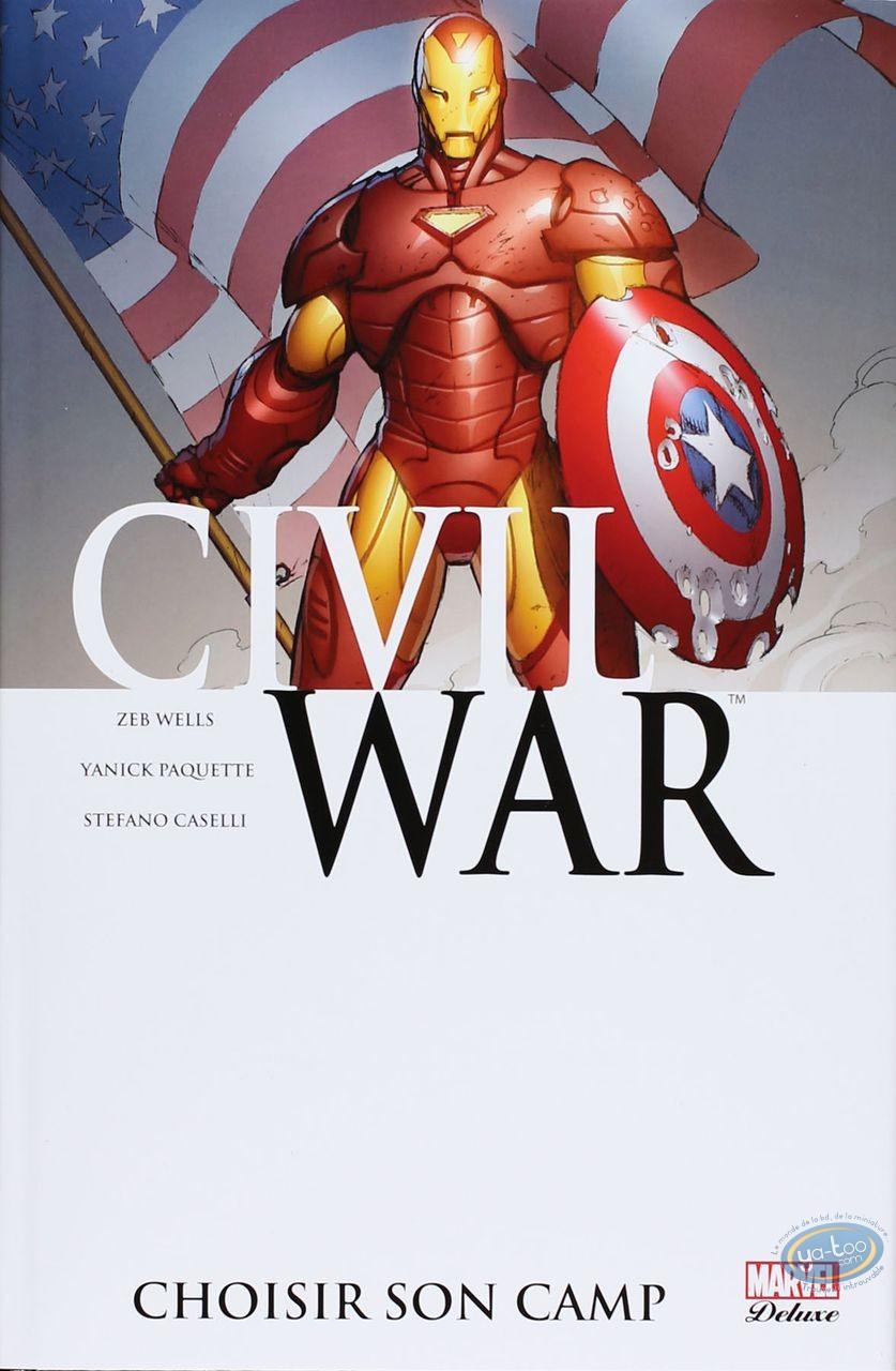 European Comic Books, Civil War : Choisir son camp
