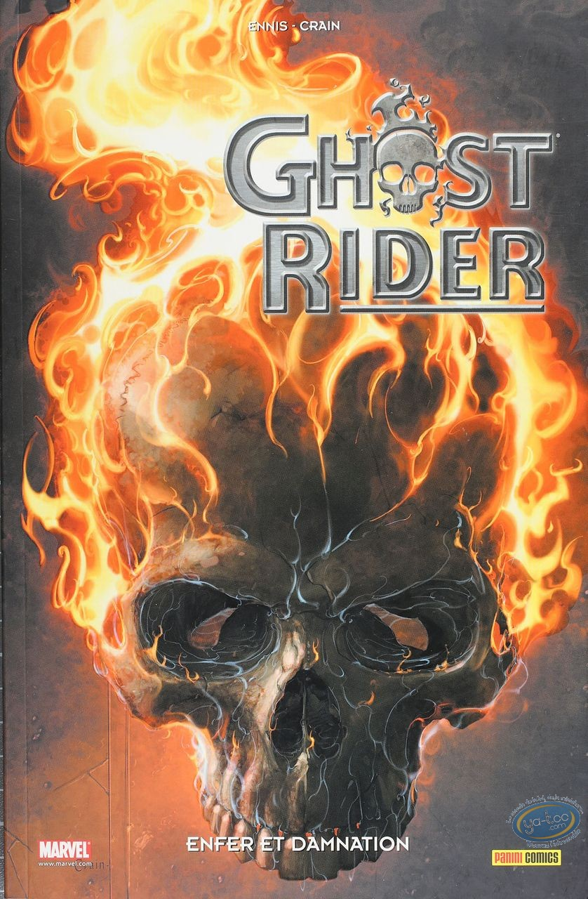 European Comic Books, Ghost Rider : Ghost Rider tome 2 Enfer et Damnation