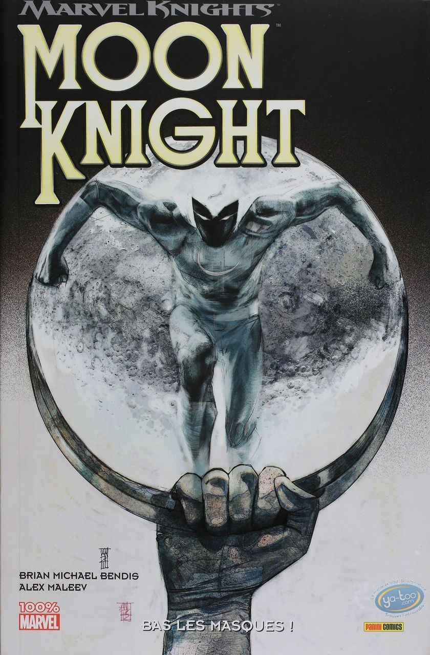 European Comic Books, Moon Knight : Bas les masques!