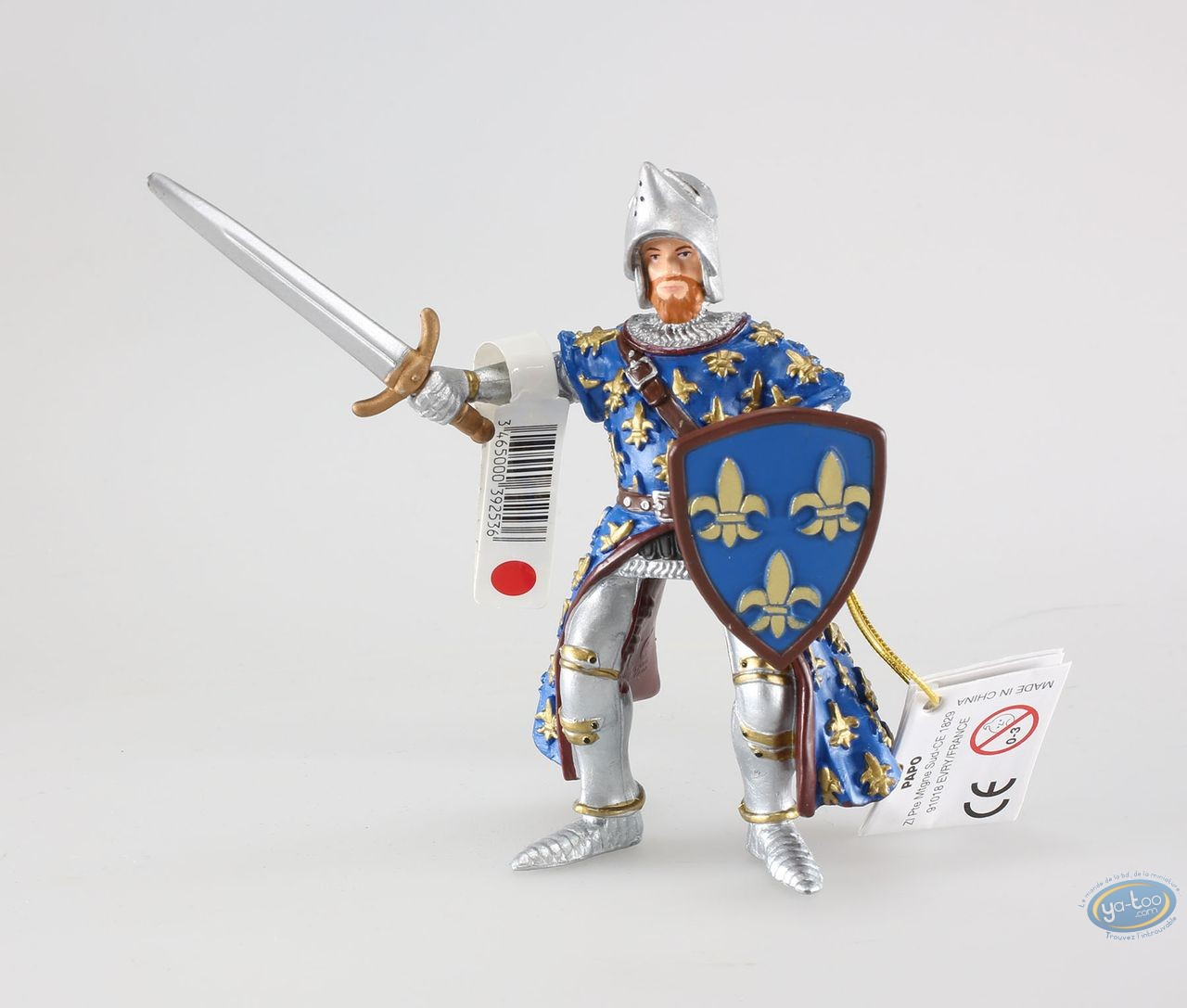Plastic Figurine, Blue prince Philip