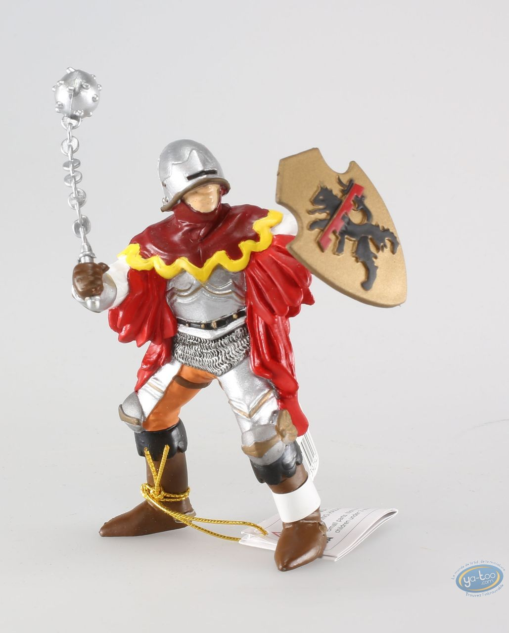 Plastic Figurine, Officer with red mace figure