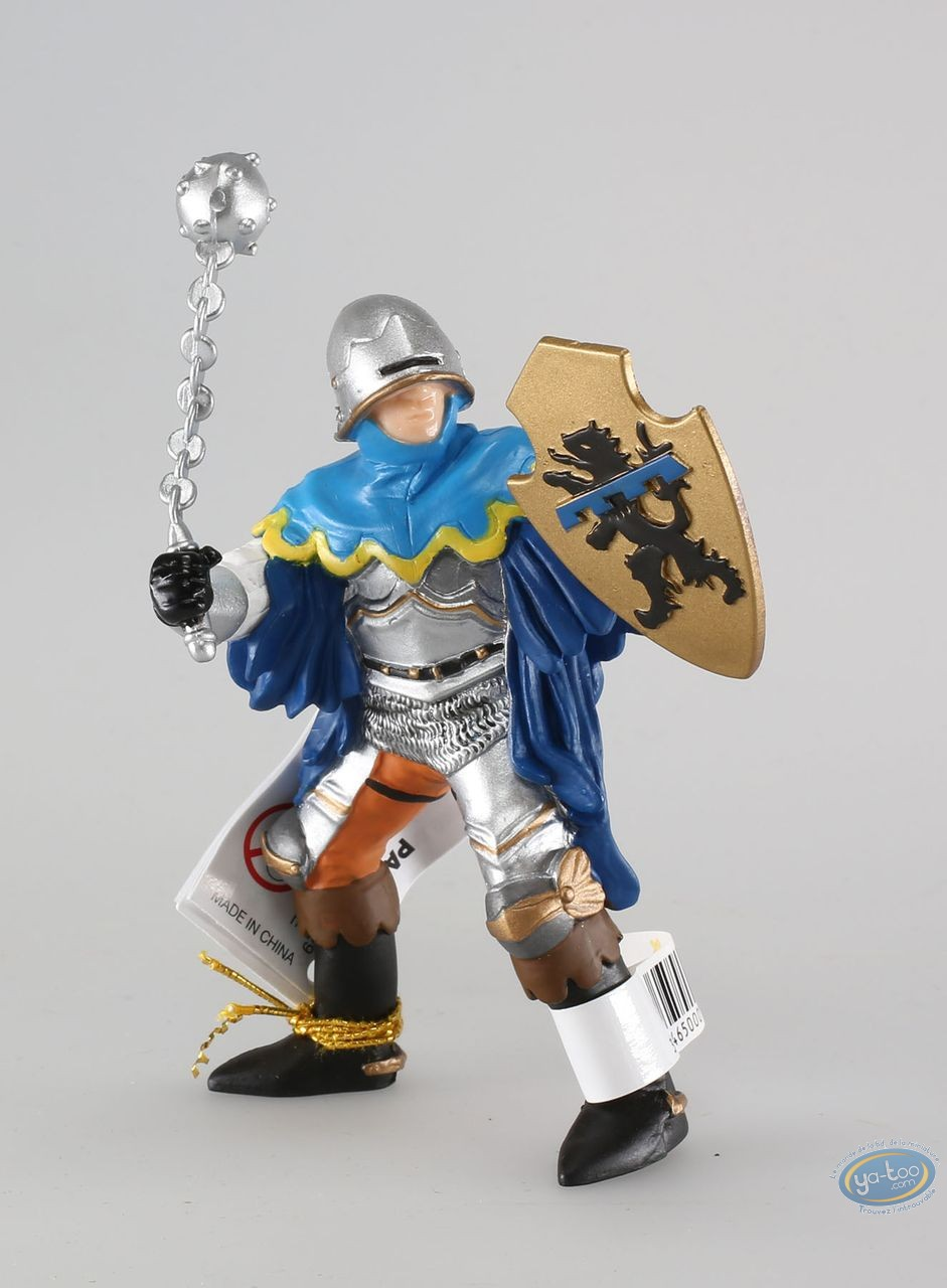 Plastic Figurine, Officer with blue mace figure