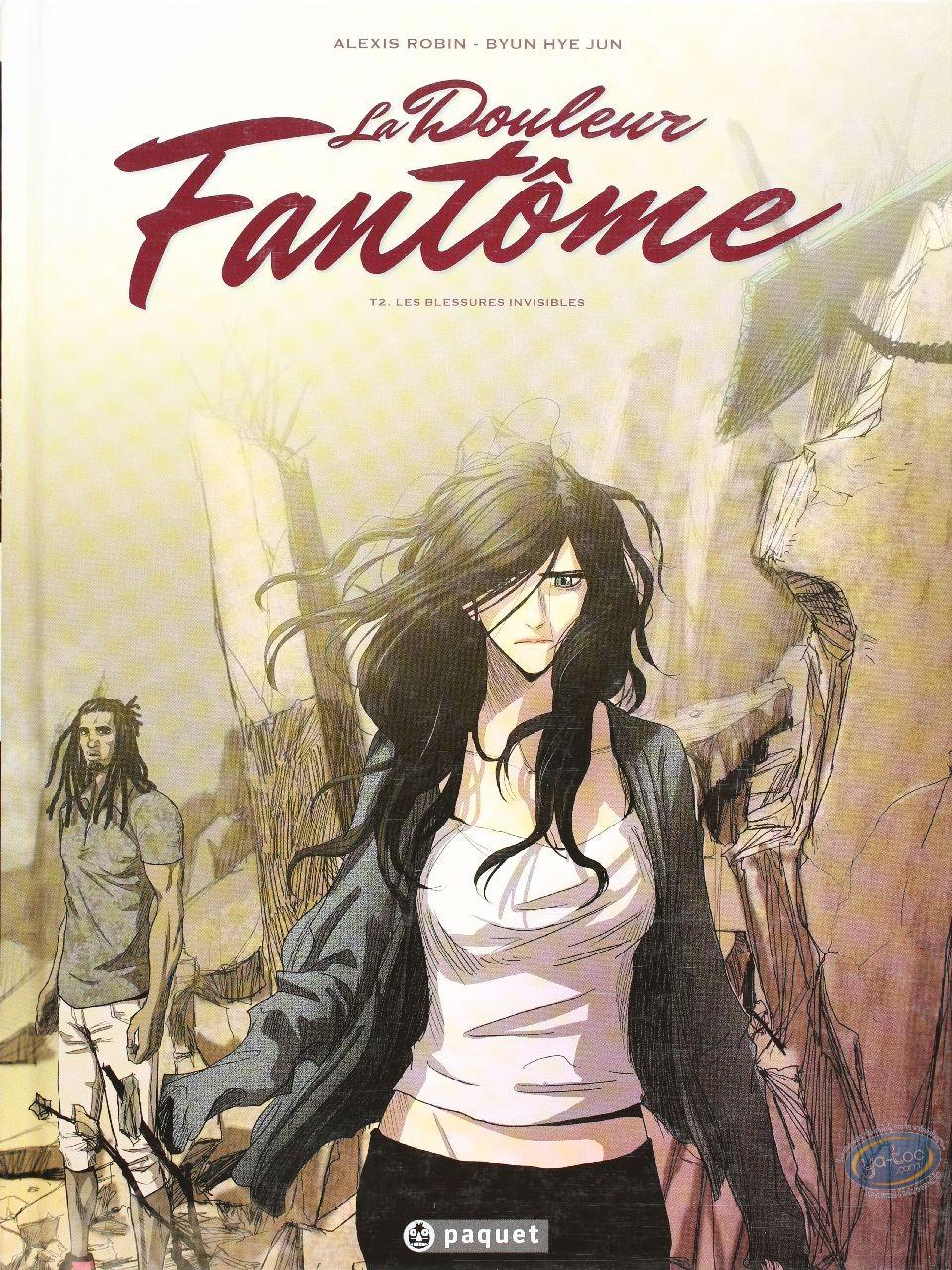 Used European Comic Books, Douleur fantôme (La) : Les blessures Invisibles