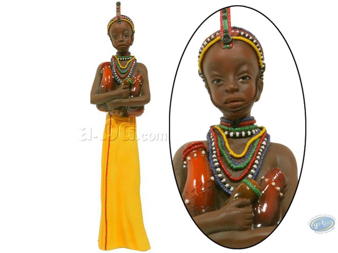 Resin Statuette, Safiya - au coeur pur